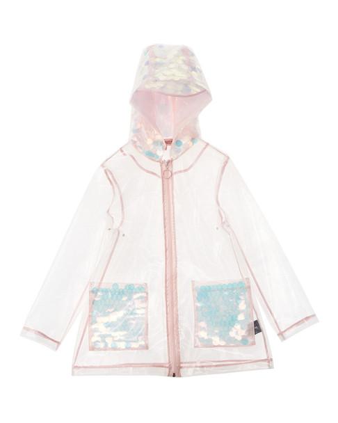 Urban Republic Sequin Raincoat~1511232992
