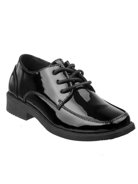 7-12 Boys' Lace-Up Dress Shoes~O-25072J