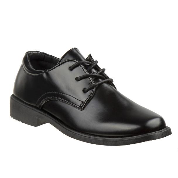 13-6 Boys' Dress Shoes~Black*O-80351C