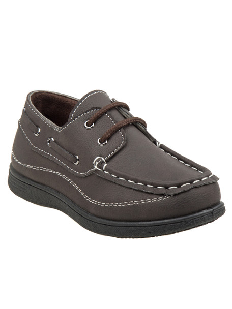 6-11 Boys' Casual Shoes~Brown*O-80383C