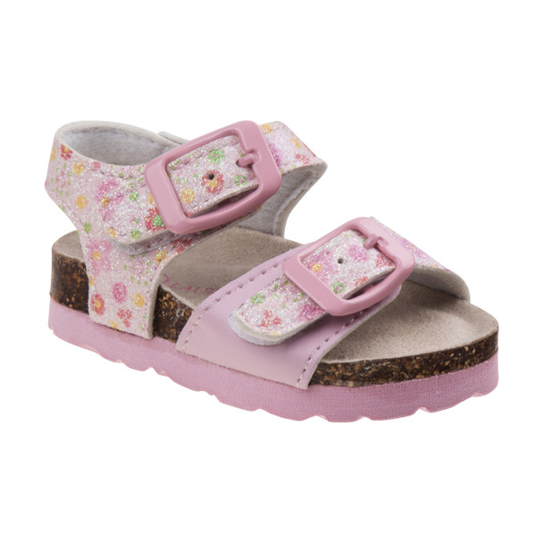 Laura Ashley Buckle Sandals for Toddler Girls~Pink*O-LA81247S