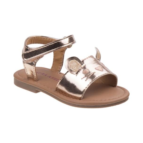 Toddler Girls' Cat Sandals~Champagne*O-LA81635N