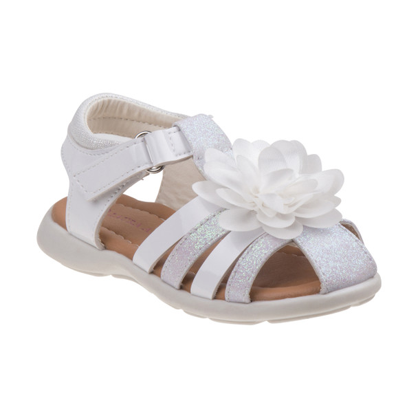 Laura Ashley Flower Fisherman Sandals for Toddler Girls~O-LA81993C