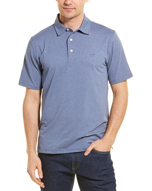 Southern Tide Heathered Driver Performance Polo~1010099150