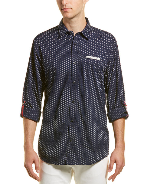 Scotch & Soda Relaxed Fit Woven Shirt~1010237455
