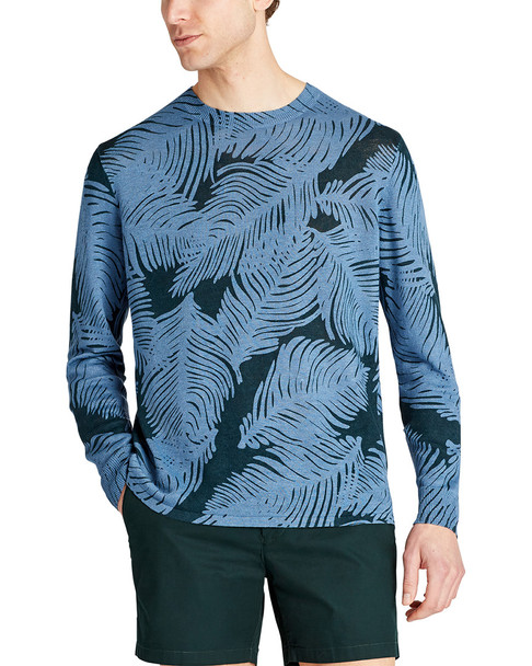 Bonobos Standard Fit Printed Linen Crew Shirt~1010246621