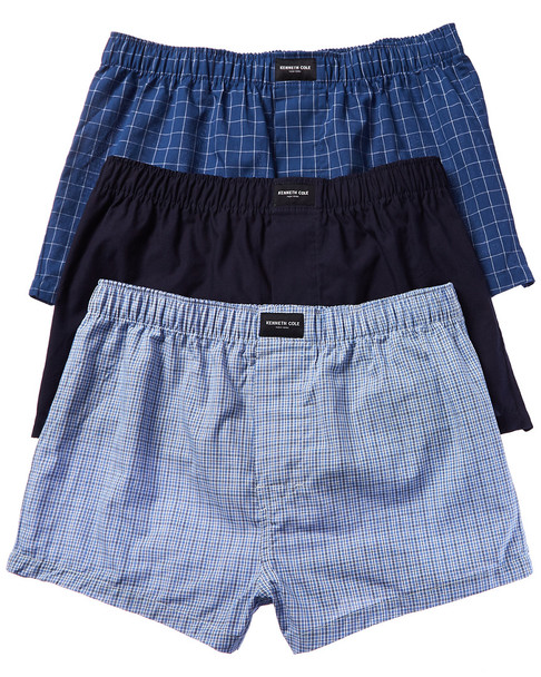 Kenneth Cole New York 3pk Woven Boxer~1010868185