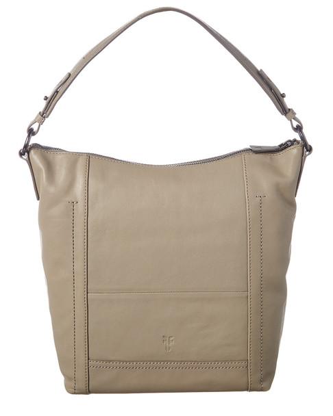 Frye Lena Leather Zip Hobo Bag~11602265100000