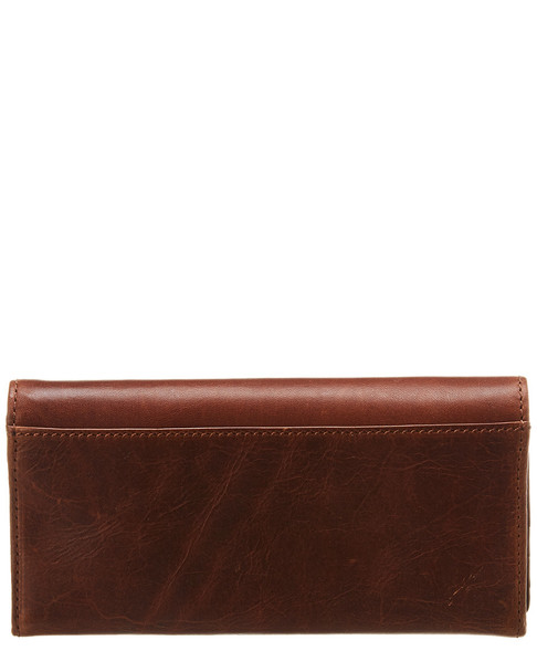 Frye Melissa Leather Snap Wallet~11622265150000