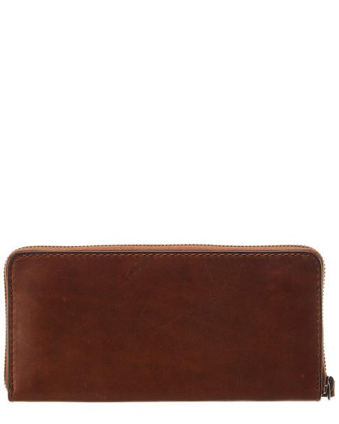 Frye Melissa Leather Zip Wallet~11622265170000