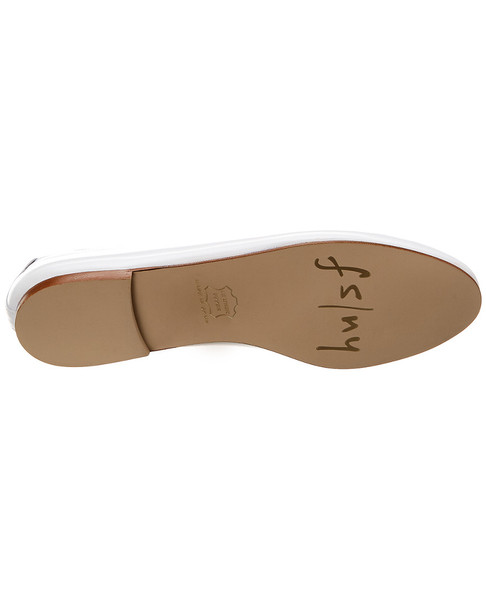 French Sole Razor Leather Flat~1311039037