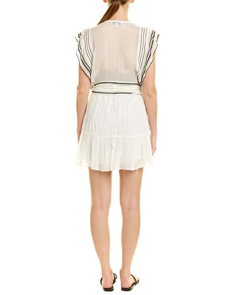 IRO Embroidered Silk-Blend Dress~1411077428