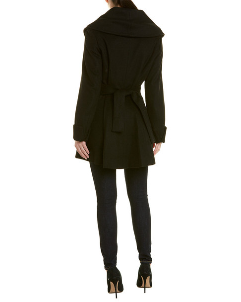 Trina Turk All Wrap Coat~1411120799