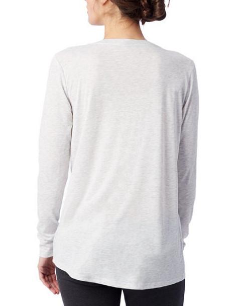 Alternative Apparel Long Sleeve Slinky V-Neck~1411199140