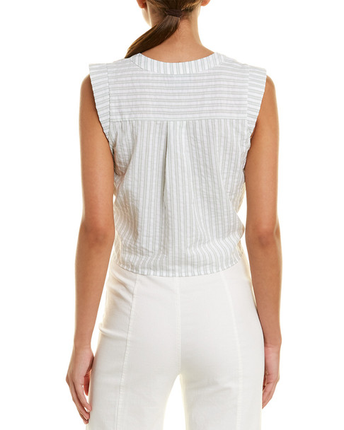 LUMIERE Tie-Front Top~1411229862