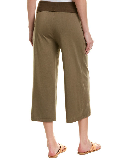 Michael Stars Cropped Wide Leg Culotte~1411393087