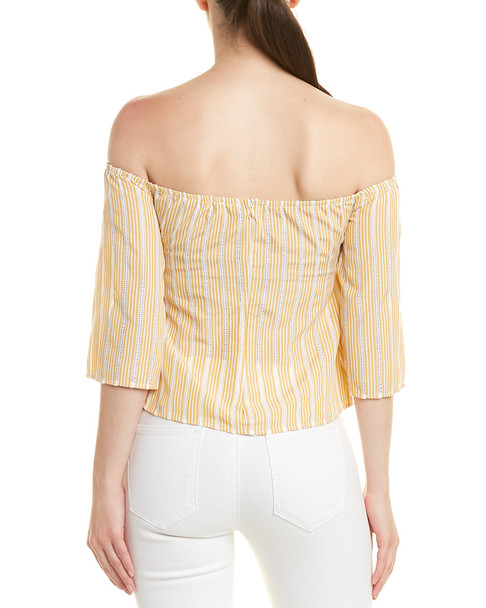 FORE Off-the-Shoulder Top~1411559761