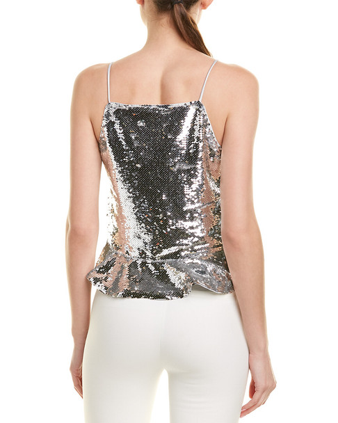 GANNI Sequin Crop Top~1411680731