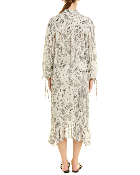 IRO Floral Midi Dress~1411841267