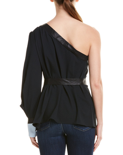BCBGMAXAZRIA Pleated Top~1411843739