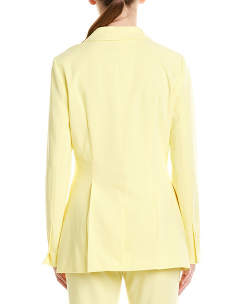 BCBGMAXAZRIA Pleated Blazer~1411843776