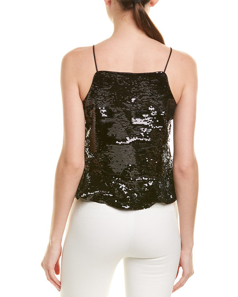 GANNI Sequin Crop Top~1411856109
