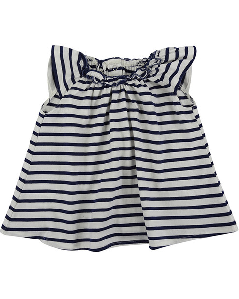 Lilly and Sid Pretty Gathered Stripe Dress~1511080467