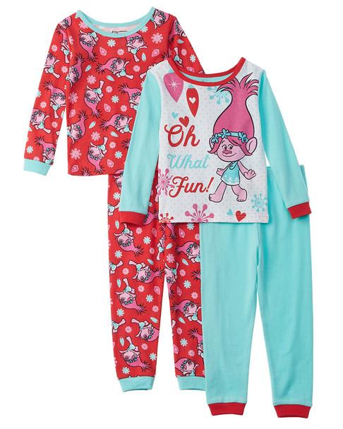 Trolls 4pc Pajama Set~1511134891
