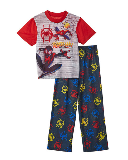 Character Sleepwear Character Sleepwear Spiderman 2 Piece Sets~1511134929