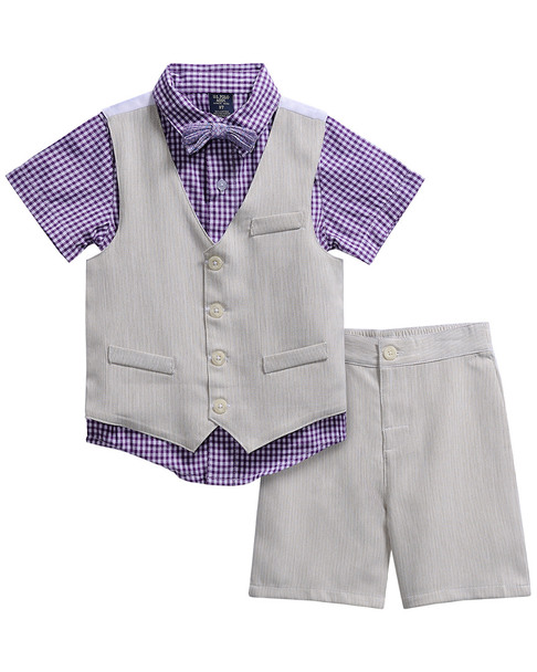 U.S. Polo Assn. 3pc Dress Wear Short Set~1511189684