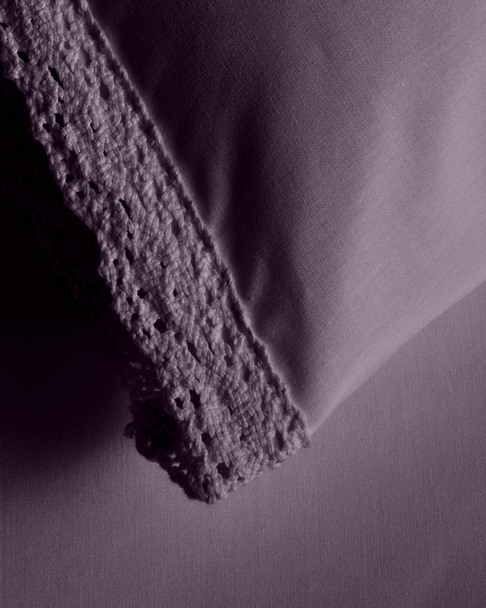 BOHO BED Wide Crochet Duvet Set Indigo~3030820758