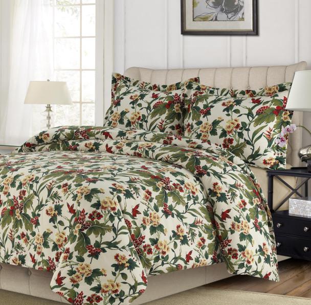 Lyon Tropical Garden Oversized Quilt Set~TRGAQUILT