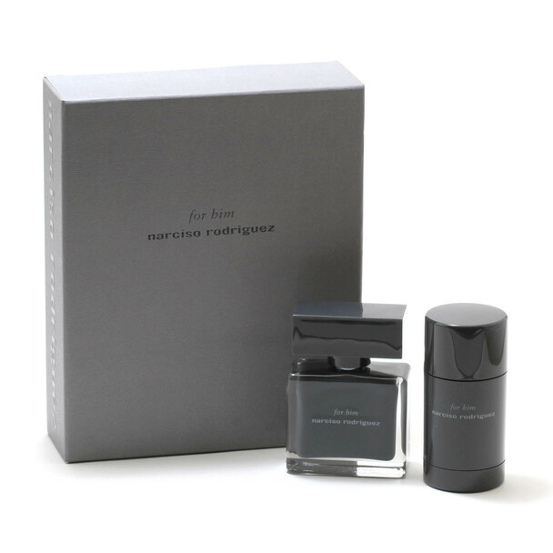 Narciso Rodriguez for Him 2-Piece Set - 1.6 oz. Spray/2.6 oz. Deodorant Stick