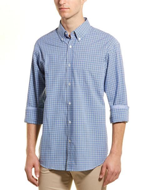 J.McLaughlin Carnegie Check Woven Shirt~1010107372