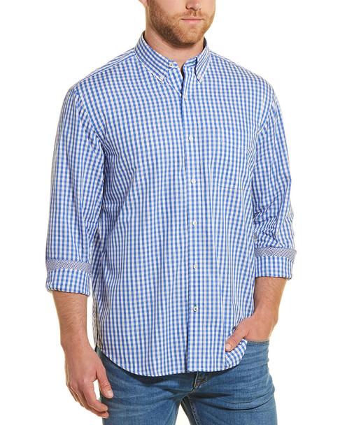 J.McLaughlin Carnegie Gingham Woven Shirt~1010246971