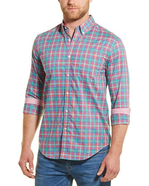 J.McLaughlin Carnegie Plaid Woven Shirt~1010246972