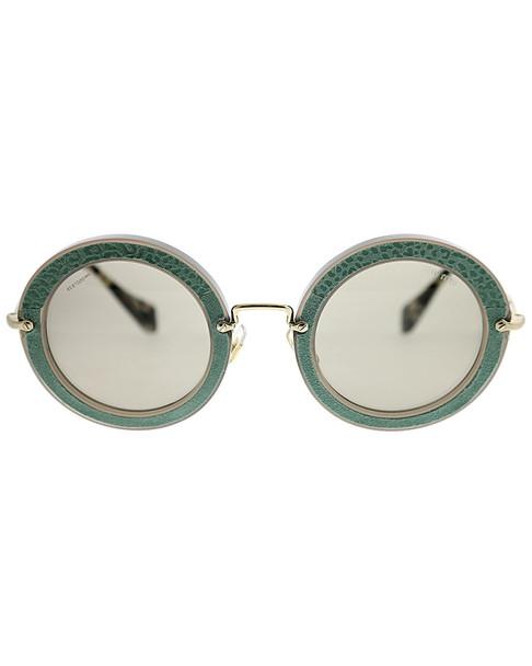 Miu Miu Women's Round 49mm Sunglasses~11110753890000
