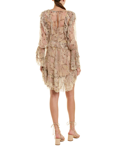 Love Sam Ruffle Mini Dress~1411009291