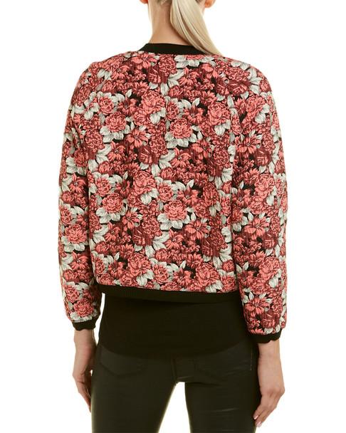 Sandro Floral Bomber Jacket~1411033976