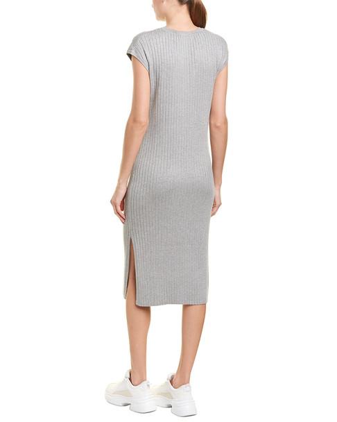 525 America Ribbed Midi Dress~1411043268
