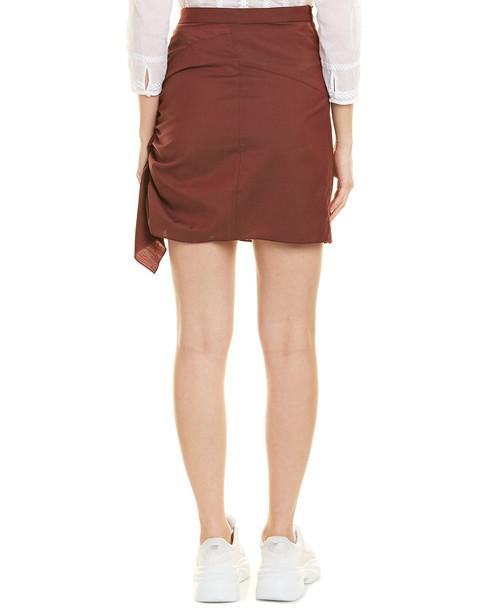 Isabel Marant Ruffled Wool Mini Skirt~1411049003