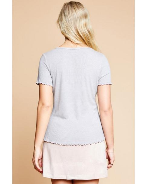 Sadie & Sage Mineral Wash T-Shirt~1411072686