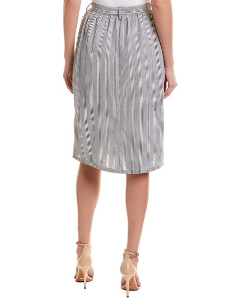 Double Zero Belted Midi Skirt~1411093728