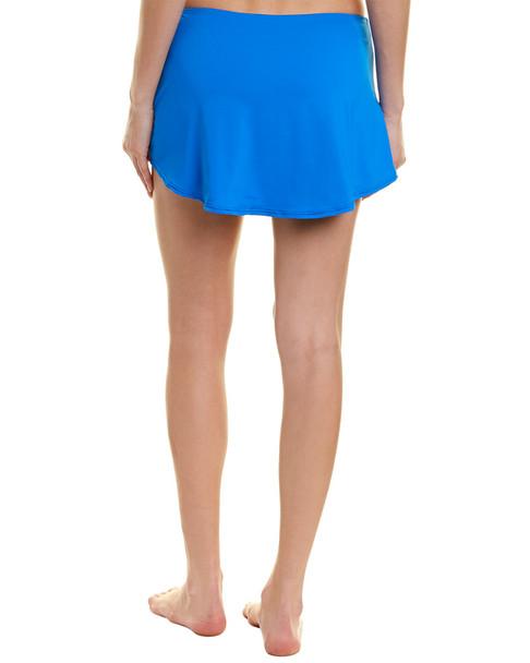Anne Cole Adjustable Side Slit Swim Skirt~1411119761