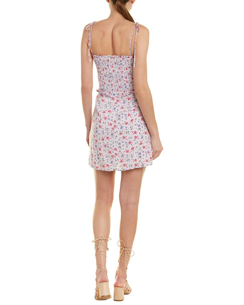 Dance & Marvel Smocked Mini Dress~1411195101