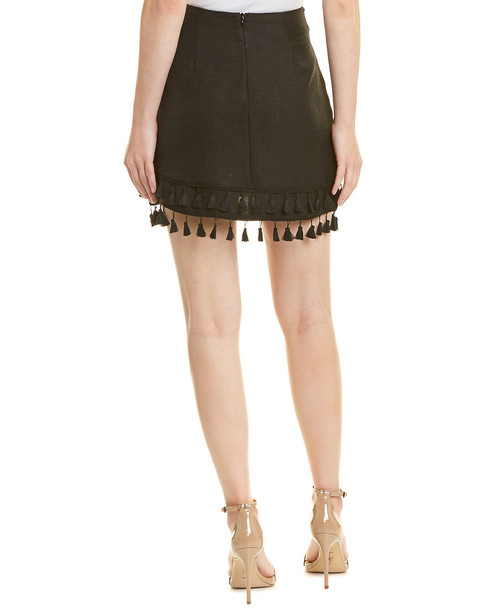 FORE Tassel Mini Skirt~1411244102