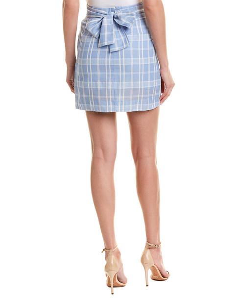 Double Zero Pleated Mini Skirt~1411244835
