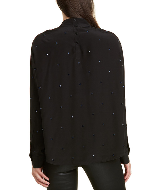 Zadig & Voltaire Teddy Strass Silk Tunic~1411255514