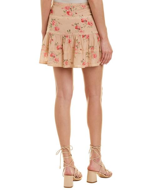 Love Sam Lace-Trim Skirt~1411299474