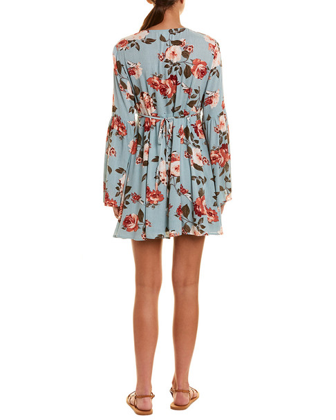 Loveriche by Very J Floral Mini Dress~1411366073